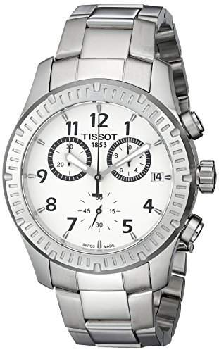 Mens Watch T-Sport V8 Chronograph Stainless Steel