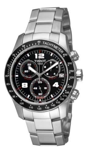 Tissot Herren-Armbanduhr V8 Chronograph Quarz T0394171105700