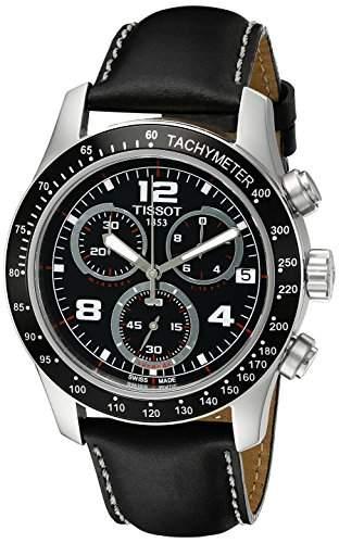Tissot Herren-Armbanduhr Chronograph Quarz Leder T0394171605702