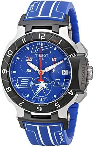 Tissot Herren-Armbanduhr Chronograph Quarz Silikon T0484172704700