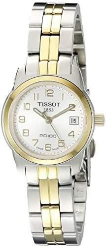 Tissot Damen-Armbanduhr Pr100 Edelstahl T0492102203200