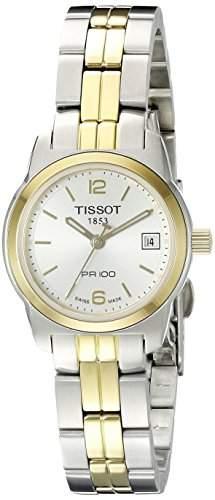 Tissot Damen-Armbanduhr Pr100 Edelstahl T0492102203700
