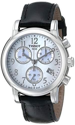Tissot Damen-Armbanduhr Chronograph Quarz Edelstahl T0502171611200
