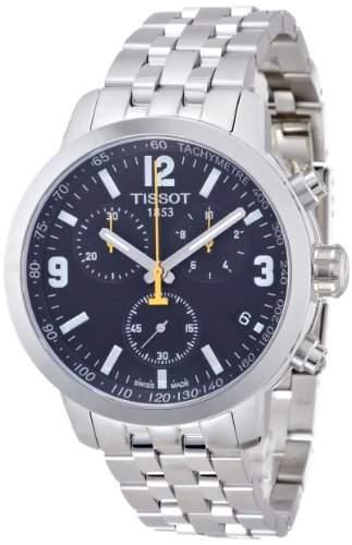 Tissot Herren-Armbanduhr Chronograph Quarz Edelstahl T0554171105700