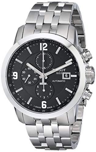 Tissot Herren-Armbanduhr Chronograph Automatik Edelstahl T0554271105700