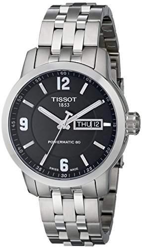 Tissot Herren-Armbanduhr Analog Automatik Edelstahl T0554301105700