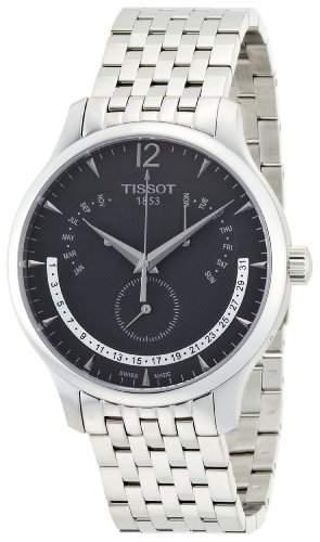 Tissot Herren-Armbanduhr Tradition T0636371605700