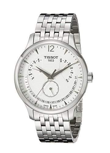 Tissot Herren-Armbanduhr Analog Quarz Edelstahl T0636371103700
