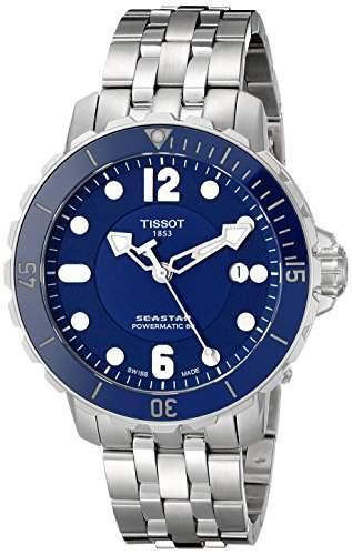 Tissot Seastar 1000 Powermatic 80 Herren-Armbanduhr 42mm Armband Edelstahl Automatik T0664071104702