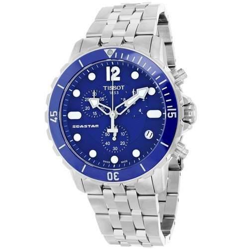 Tissot Herren-Armbanduhr Chronograph Quarz Edelstahl T0664171104700