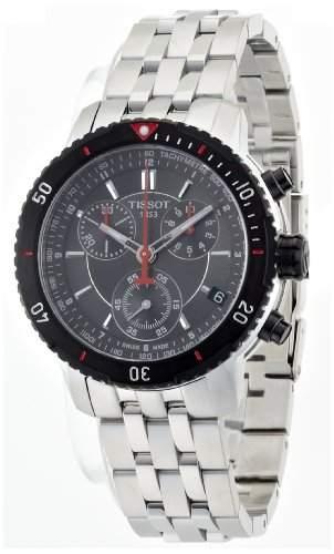 Tissot Herren-Armbanduhr Prs 200 Chrono Quartz T0674172105100
