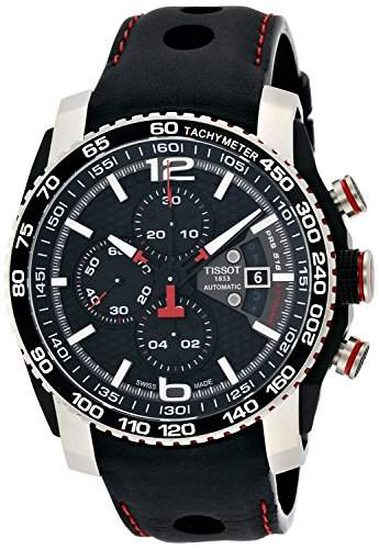 Tissot Herren-Armbanduhr Chronograph Automatik Leder T0794272605700