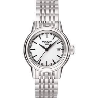 Damen-Armbanduhr XS Analog Quarz Edelstahl T0852101101100