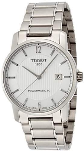 Tissot Herren Uhren T0874074403700 T-Classic Titanium