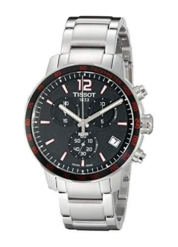 Tissot Herren-Armbanduhr Chronograph Quarz Edelstahl T0954171105700