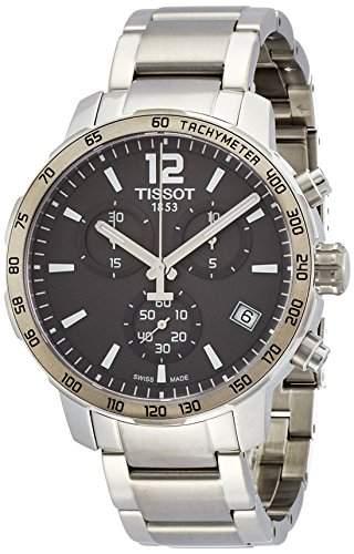 Tissot Herren-Armbanduhr Chronograph Quarz Edelstahl T0954171106700