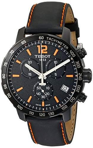 Tissot Herren-Armbanduhr Chronograph Quarz Leder T0954173605700