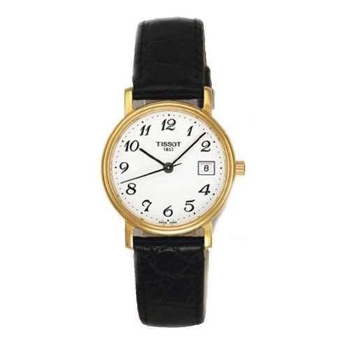 Tissot Damen-Armbanduhr DESIRE Leder T52512112