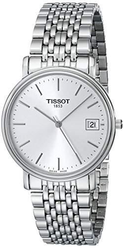 Herren-Armbanduhr XL Analog Quarz Edelstahl T52148131