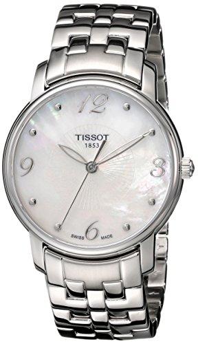 Tissot Lady Round Analog Quarz Edelstahl T052 210 11 117 00