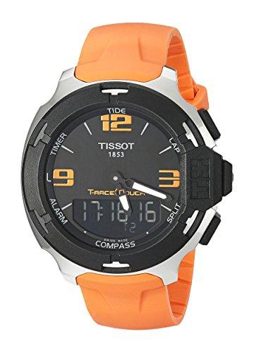 Tissot Herren Armbanduhr Analog Digital Quarz Kautschuk T081 420 17 057 02