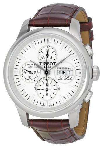 Tissot Mens Le Locle Automatic Chronograph Watch T41131731