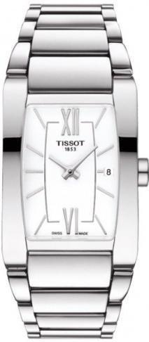 TISSOT Mod GENEROSI LADY WHITE DIAL BRACELET DATE SWISS MADE