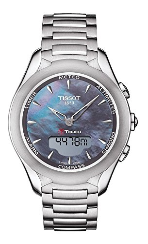 Tissot T Touch Lady Solar Stahl Stahl T075 220 11 101 01