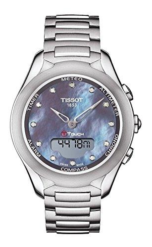 Tissot T Touch Lady Solar Stahl Stahl T075 220 11 106 01