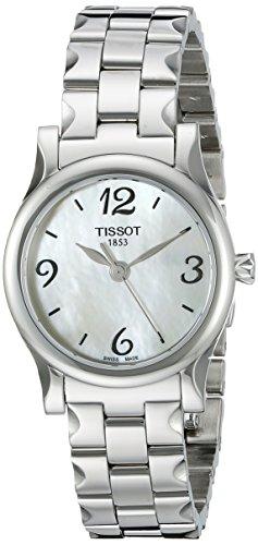 Tissot Damen T0282101111702 Stylis T Edelstahl Armband Uhr