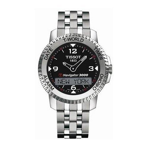 Tissot Mens TOUCH NAVIGATOR Bracelet Watch T96148852