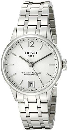 Tissot Chemin Des Tourelles Damen Armbanduhr 32mm Armband Edelstahl Automatik Analog T099 207 11 037 00