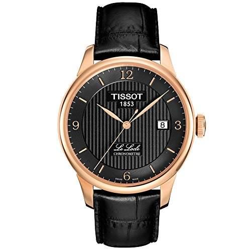 Tissot Herren-Armbanduhr Analog Automatik Leder T0064083605700