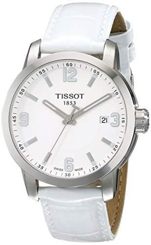 Tissot Herren-Armbanduhr Analog Quarz Leder T0554101601700