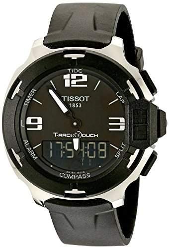 Tissot Herren-Armbanduhr Analog - Digital Quarz Kautschuk T0814201705701