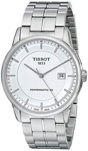 Herren-Armbanduhr XL Analog Automatik Edelstahl T0864071103100