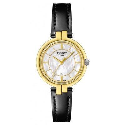 Uhr Analog Quarz Edelstahl Leder bicolor