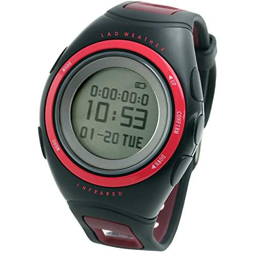 LAD WEATHER infrarot Puls Bildschirm Kalorie UEbung Wandern Laufen Outdoor Incoming Display Bluetooth Sport Herren uhren Armbanduhren