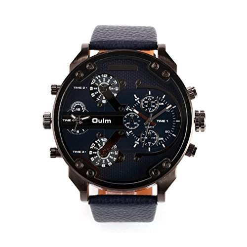 Boys Salve Foxnovo Oulm Masculine Composer Vier Zeit Anzeige Quartz Wrist Watch