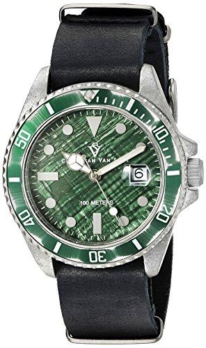 Christian Van Sant Herren cv5202 Montego Analog Display Quartz Black Watch