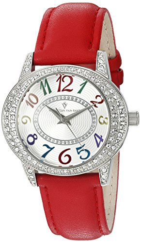 Christian Van Sant Damen cv8415 Jazz Armbanduhr Analog Display rot Quarz