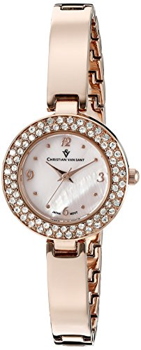 Christian Van Sant Damen cv8614 Palisades Analog Display Quarz Rose Gold Watch