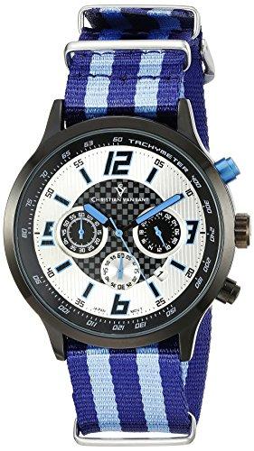 Christian Van Sant Herren cv3121nbl Analog Display Quarz Zweifarbige Armbanduhr