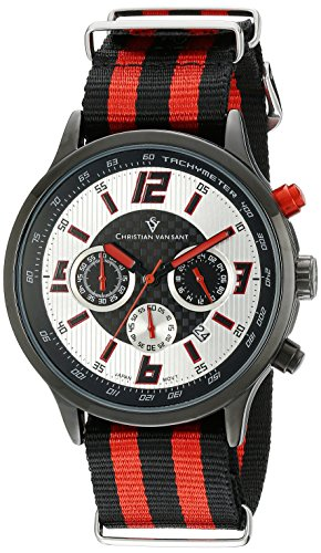 Christian Van Sant Herren cv3122nr Analog Display Quarz Zweifarbige Armbanduhr