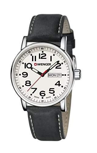 WENGER Unisex-Armbanduhr Analog Quarz Edelstahl 010341101