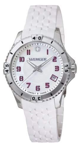 Wenger Damen-Armbanduhr Squadron Lady Analog Quarz Silikon 010121103