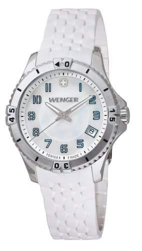 Wenger Damen-Armbanduhr Squadron Lady Analog Quarz Silikon 010121104