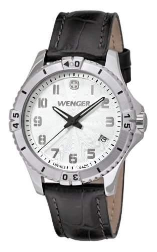 Wenger Damen-Armbanduhr Squadron Lady Analog Quarz Leder 010121106