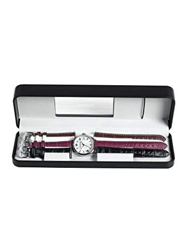 Wenger Damen-Armbanduhr XS Terragraph Analog Quarz Leder 010521103