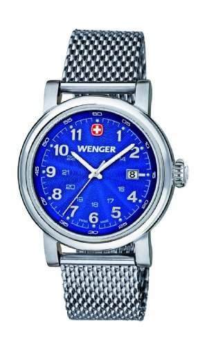 Wenger Damen-Armbanduhr XS Urban Classic Analog Quarz Edelstahl 011021107